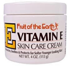 Mã SP: 22301A - Kem dưỡng da Vitamin E Fruit of the Earth, Vitamin E, Skin Care Cream, 4 oz (113 g)