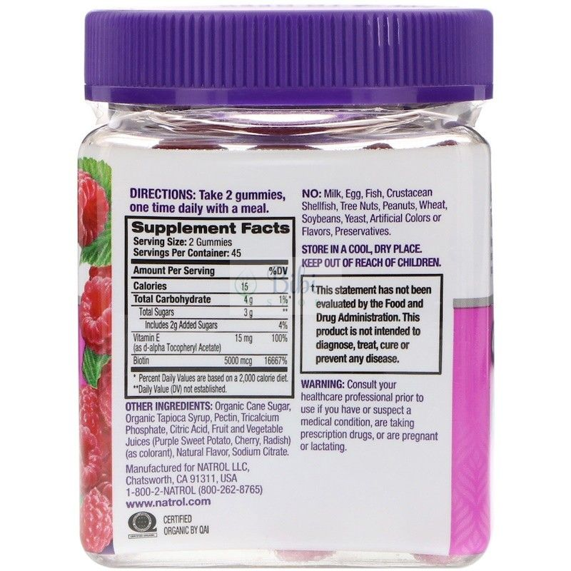 keo-mem-natrol-gummies-hair-skin-nails-vi-phuc-bon-tu